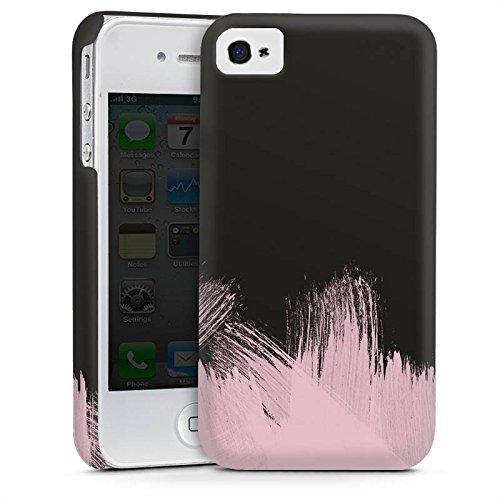 Apple iPhone SE Housse Outdoor Étui militaire Coque Pantone Pastel Rose Cas Premium mat