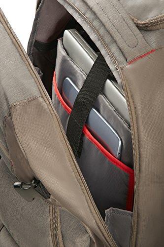 Imagen de samsonite rewind 55/20  tipo casual con ruedas, 55 cm, 32.5 l, color gris taupe  alternativa