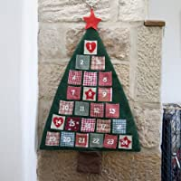 Fabric Advent Calendar Christmas Tree by Lights4fun