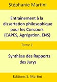Image de Entraînement à la dissertation philosophique pour les concours (CAPE