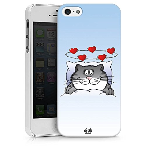 Apple iPhone X Silikon Hülle Case Schutzhülle Uli Stein Fanartikel Merchandise Cartoon Hard Case weiß