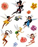 alles-meine.de GmbH 13 tlg. Set _ XL Fensterbilder -  Disney Fairies / Tinkerbell  - Sticker Fen..