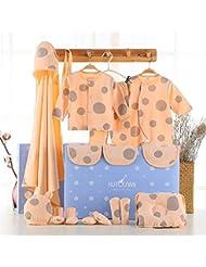 SHISHANG Set de 22 piezas Baby Gift Box Bebé puro algodón Suit Box Chico Chico Adecuado para 0-12 meses Caja de regalo para recién nacidos Pure Cotton (100%) Four Seasons Gift Package , 2 , 16
