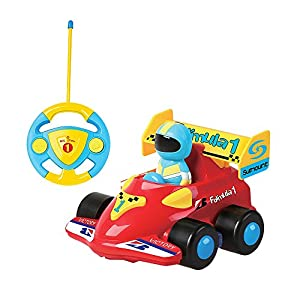 Deexop Cartoon Cars Action Figure Cars with Music Playing Cars Toy for children