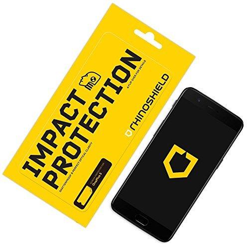 Rhino Shield OnePlus 5 Displayschutzfolie Impact Protection Schockdämpfung und Aufprallschutz - Klarer, Kratzfester und Fingerabdruckresistenter Displayschutz