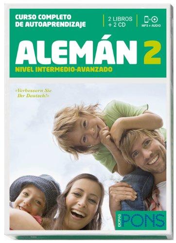 Curso Pons Alemán 2 (nivel B1) - 2 libros + 2 CD (Pons - En La Empresa)