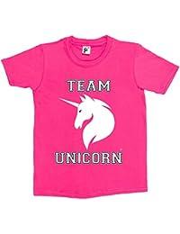 Fancy A Snuggle Team Unicorn Kids Boys / Girls T-Shirt