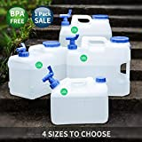 90 Points 10Liter/15Liter/18Liter/23Liter Wasser Behälter BPA-FREI FDA genehmigt PE-Kunststoff Doppel-Griff-Design Krug für Picknick Camping Outdoor