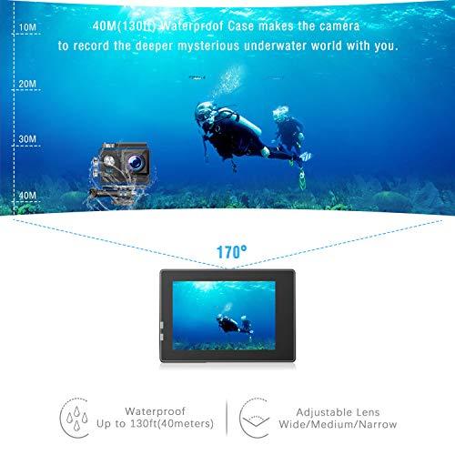 Zoom IMG-3 jeemak action cam 4k wifi