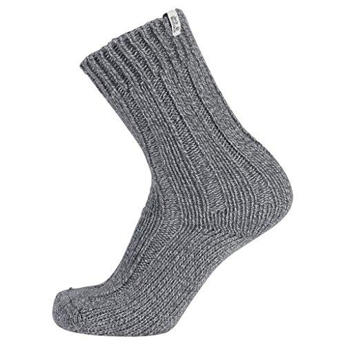 Jack Wolfskin Socken Recovery Wool Sock Classic Cut, Light Grey, 41-43, 1904491-6111413