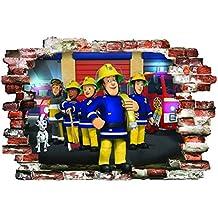 Suchergebnis Auf Amazonde Für Wandtattoo Feuerwehrmann Sam