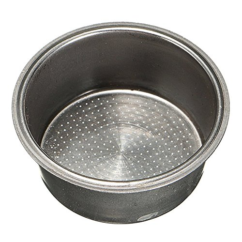 2 Taza de Café 51mm Cesta de Filtro A Presión para No Krups DeLonghi Breville