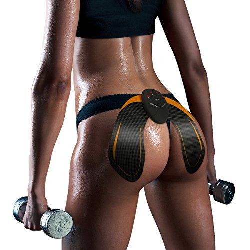 Charminer EMS Electroestimulador Gluteos Estimulador de Glúteos Herramientas Nalgas HipTrainer para la Cadera Mujer Inteligente Hip Instructor Modelling Firing Ayuda a Levantar la Cadera