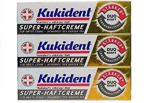 Blend a Med / Kukident Super-Haftcreme DUO KRAFT Langhaltend (1 x 40g)