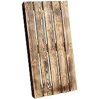 Geflammte Holzpalette / Palette flammbiert aus Holz - Europalette Einwegpalette Tauschpalette Upcycling Palettentisch 120x60x14cm