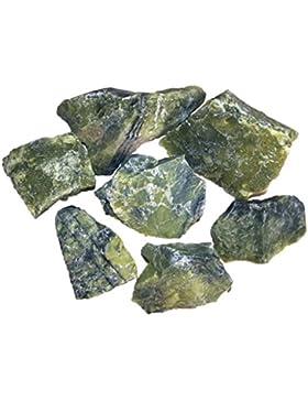Serpentin Rohsteine, Edelsteine 200 g