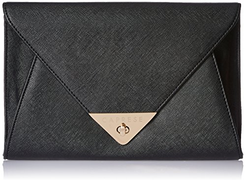Caprese Audrey Women's Clutch (Black)  available at amazon for Rs.1539