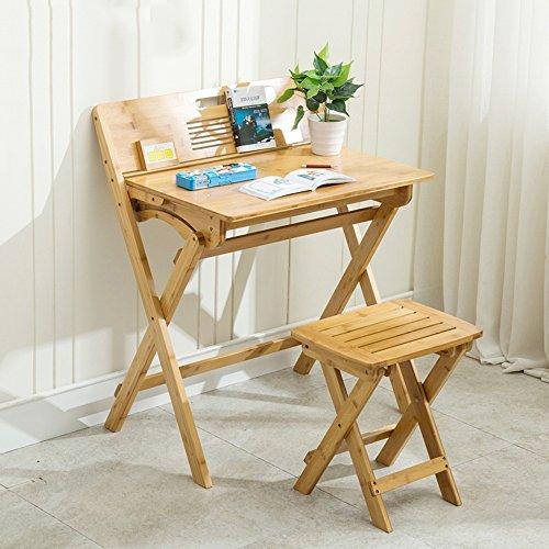 WYDM Kinderschreibtisch-Set Kid Safe, Glatte, geschliffene Holzoberfläche. Hochwertig, Tisch (Farbe : Desk+Chair)