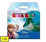 Box 12 conf. Pastelli a Cera Disney, Marvel, Nickelodeon (Frozen)