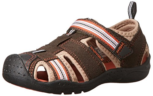 pediped Jungen Sahara Sandalen Brown (Earth) tzeFezS
