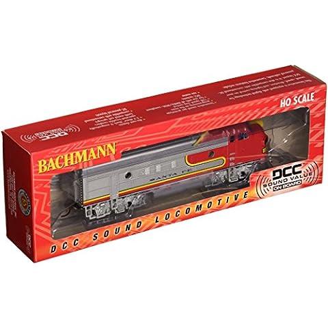 escala HO - Bachmann Locomotora diésel F7A Santa Fe con sonido