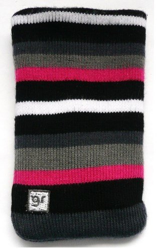 Emartbuy ® Original Glamrox Stripes Micro Fibre Self Cleaning Socks / Pouch / Case / Sleeve Geeignet Für Huawei G6151