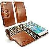 Tuff-Luv Alston Craig Vintage Wallet Case for iPhone 6 Brown/Olive (EOL) [G10_21]