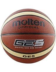 Molten BGE5 - Balón de baloncesto, color naranja, tamaño 5