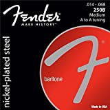 Fender 073-0250-414 super 250 baritone 0, 014-0.068 cordes