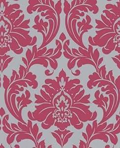 Superfresco - Papier Peint Facile Majestic Rose Vif 30-418