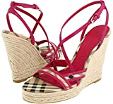 Burberry Womens Wedge heels Shoes Haymarket HG10