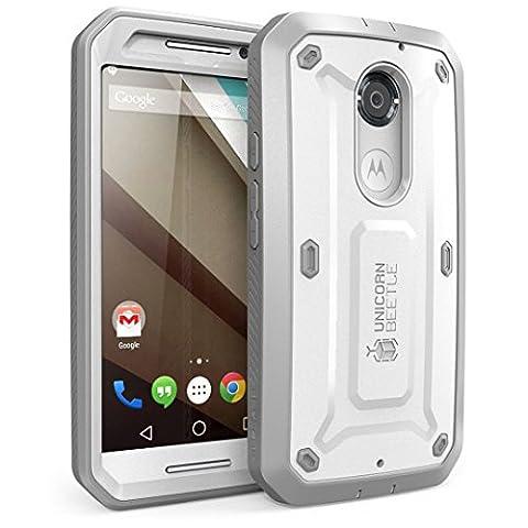Coque Moto X 2eme génération - SUPCASE Google Motorola Moto X 2 génération Case Housse protection complète SUPCASE Unicorn Beetle PRO Serie modèle hybride avec protecteur d