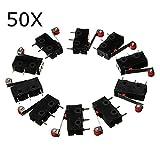 ExcLent 50 Stücke Kw12-3 Micro Endschalter Mit Rollenhebel Öffnen/Schließen Schalter 5A 125 V