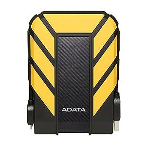 ADATA HD710 Pro - 2 TB, externe Festplatte mit USB 3.2 Gen.1, IP68-Schutzklasse, gelb