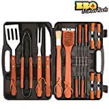 Mallette Ustensiles Barbecue BBQ Master Tools 18 pièces