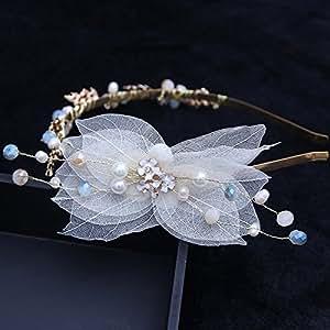 MDRW-Bride Wedding Prom Hair Pins The Headdress Ornaments