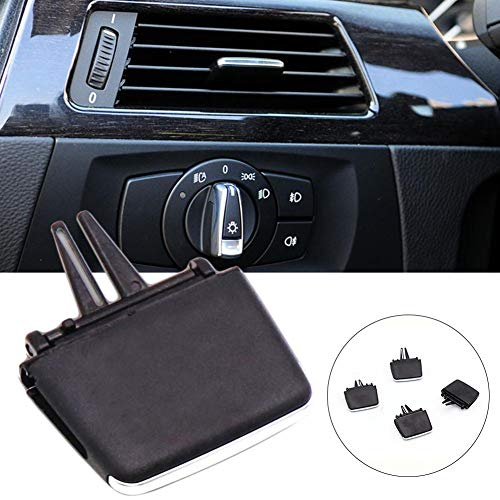 fancyU Car Front A/C Durable Air Vent Outlet Tab Clip Repair Kit for BMW 3 Series E90 E91 E92 E93 2005-2011 318i 320i 325i 330i 335i Easy Installation Auto Accessories