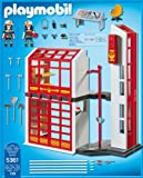 PLAYMOBIL 5361 - Feuerwehrstation mit Alarm -
