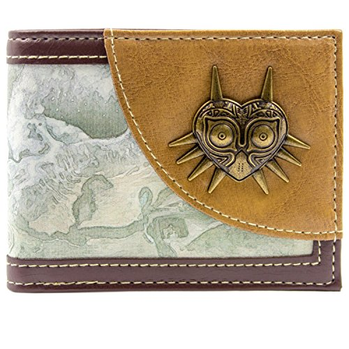 Nintendo Zelda Majora`s Mask Braun Portemonnaie Geldbörse