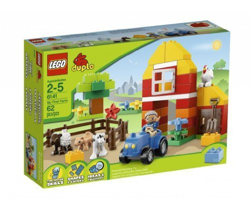Toy-Game-Lego-Brick-Unique-Themes-Duplo-My-First-Farm-6141-To-Help-Children-Develop-Role-Play-Skills-by-4KIDS