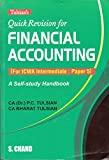 Quick Revision for Financial Accouting: For ICWA Intermediate Paper 5