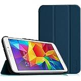 Samsung Galaxy Tab 4 7.0 Funda – Fintie Ultra Slim Case Funda Carcasa con Stand Función para Samsung Galaxy Tab 4 7.0 (SM-T230 T231 T235), Azul Oscuro