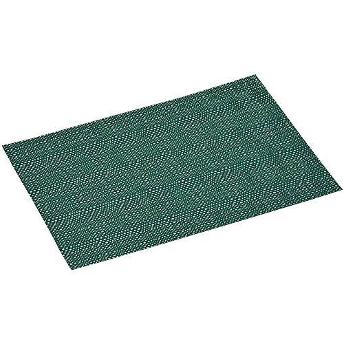 KESPER Set de Table en plastiqué en Vert Moyen Fin, Plastique, 43x29x0,1 cm