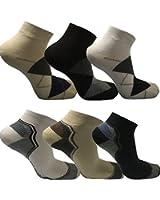 Modeoase24 Sneaker Socken 24 Paar für Sport oder Freizeit