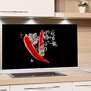 Glasbilder Küche 100 X 50   Deine-Wohnideen.de