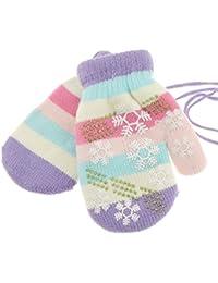 4d830dc89177 Adorable Super Doux pour bébé fille garçon chaud Hiver Moufles 6-24 mois