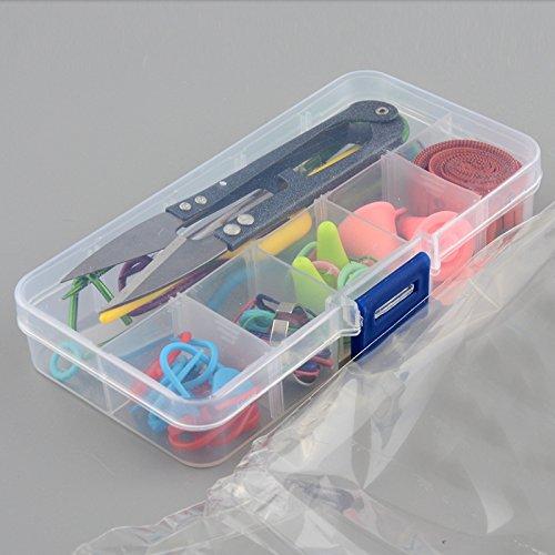SOLEDI Strickwerkzeuge Zubehör Zubehör mit Fall Knit Kit Lots Strickzubehör Utensilien-Set