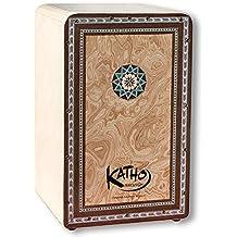 "Flamenco cajón KATHO ""Lokura"" con artesanía Taracea"