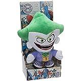 """DC COMICS - Peluche con caja del personaje """"Jocker"""" el héroe de la película, dibujos y cómics """"JOCKER"""" (18cm) - Calidad super soft"""