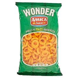 Amica Snack Wonder Anelli al Gusto Pizza – 150 gr